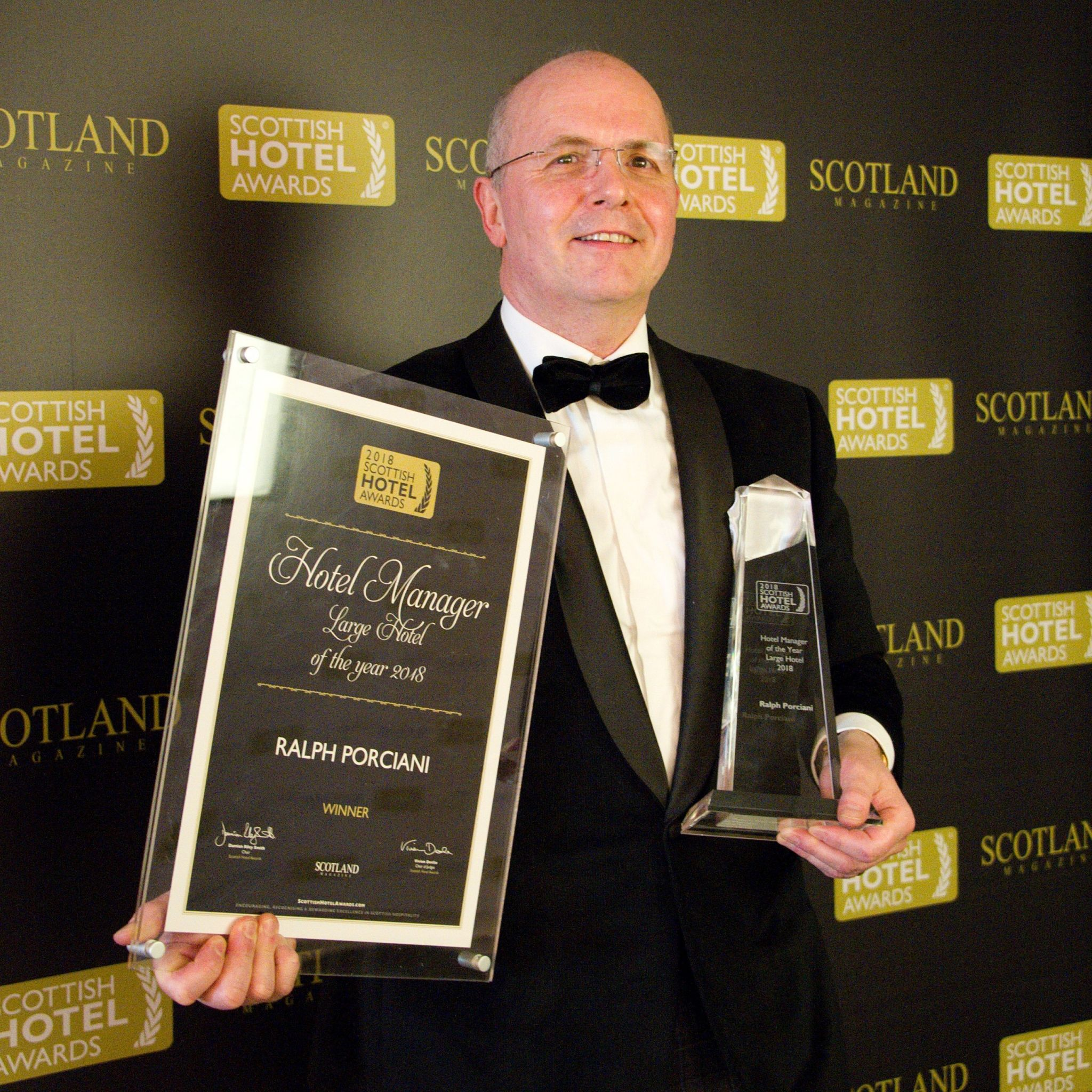 Ralph Pociani Trump Turnberry Hotel Manager of the Year